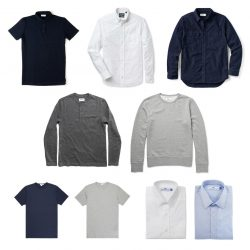 Minimalist Mens Shirt Collection