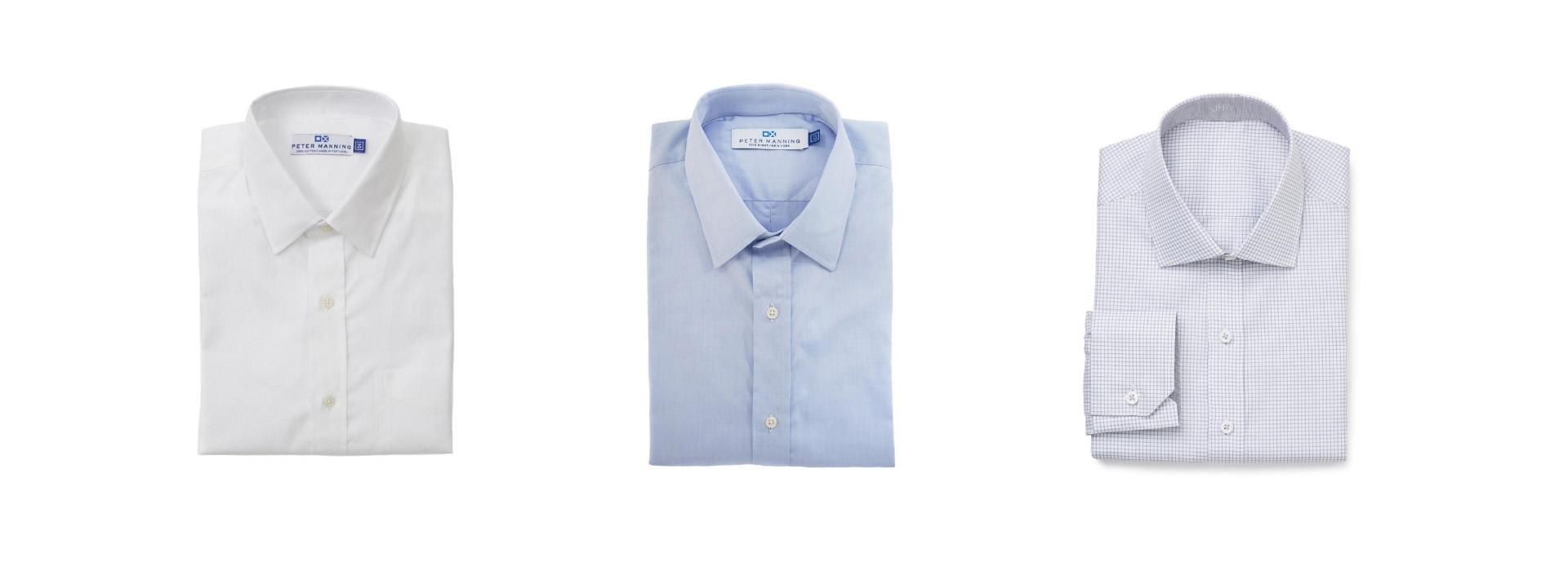 Minimal dress shirt collection