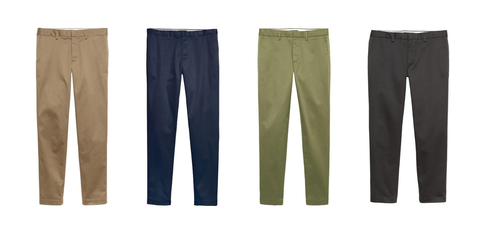 Minimalist chinos collection