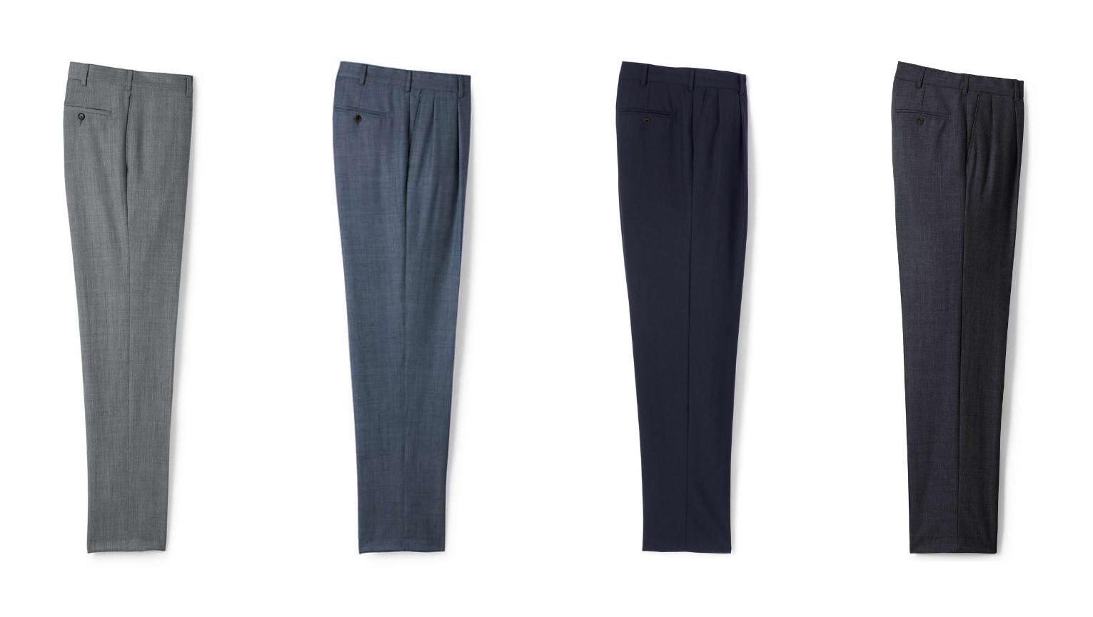 Minimalist dress pants collection