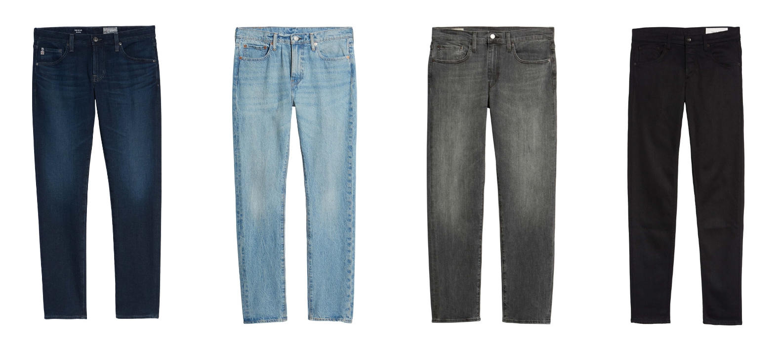 Minimalist jeans collection