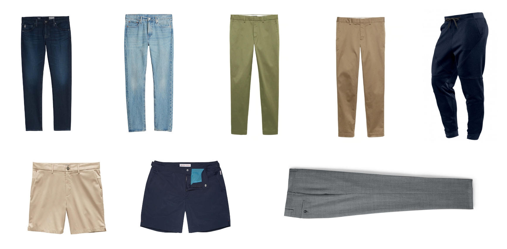 Minimalist mens pants collection 1