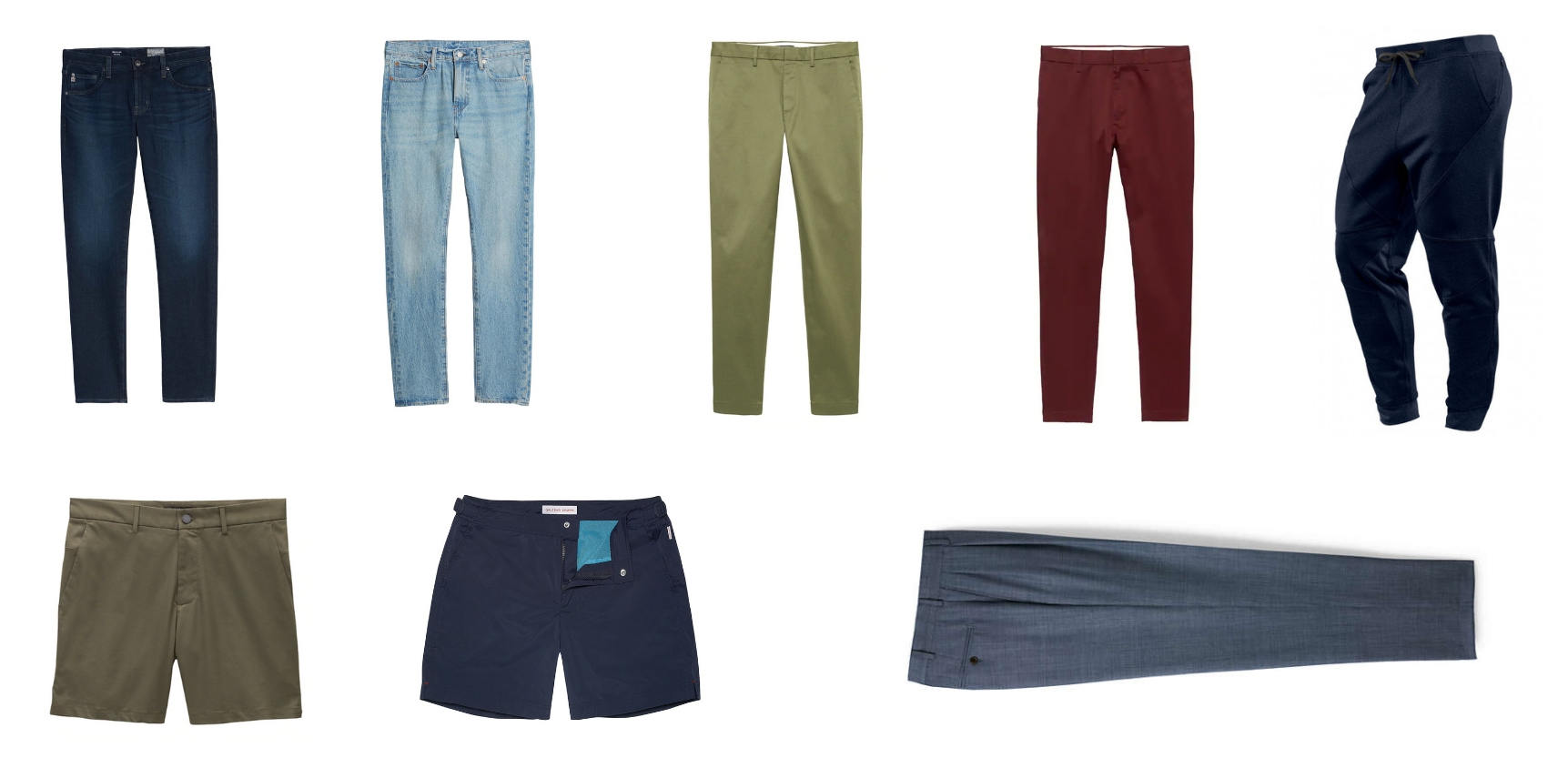 Minimalist mens pants collection 3