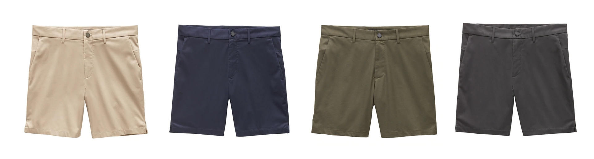 Minimalist mens shorts collection