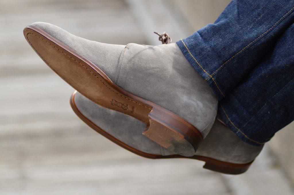 Undandy custom chukka boots