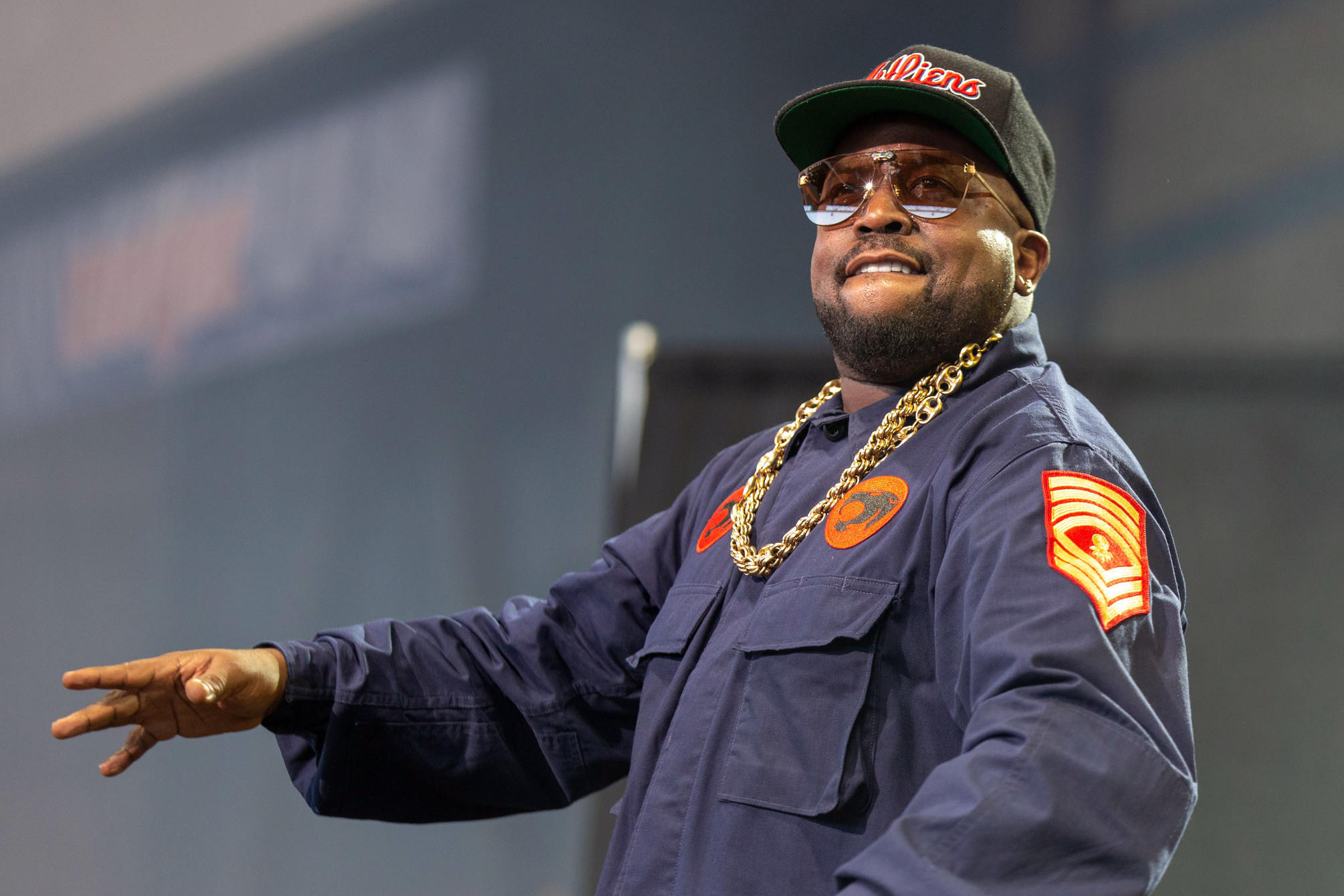 Big Boi at the Summerfest Music Festival, Milwaukee, USA