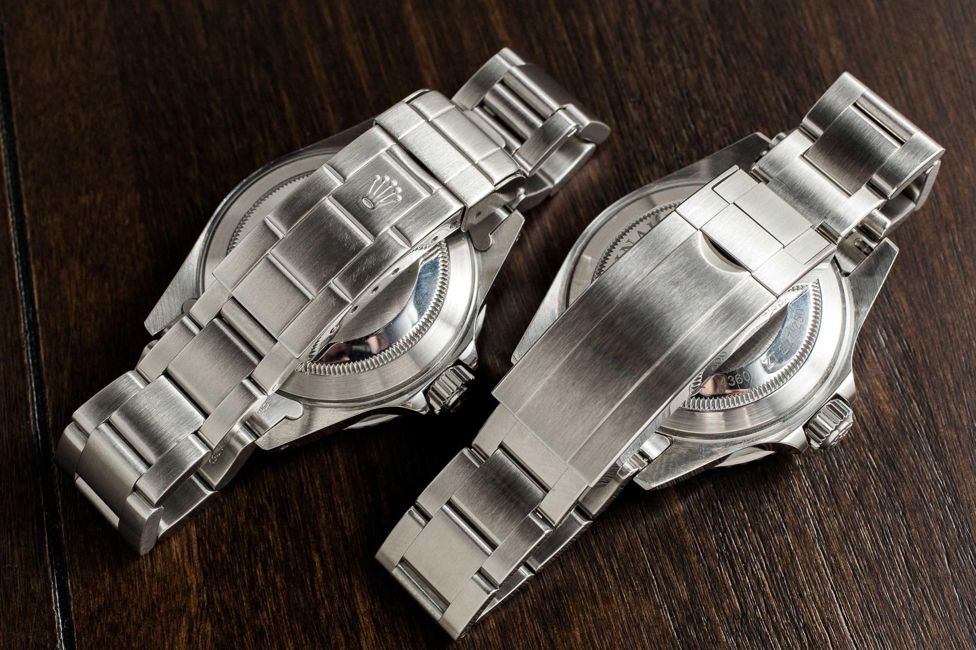Ginault Ocean Rover vs Rolex Submariner bracelet