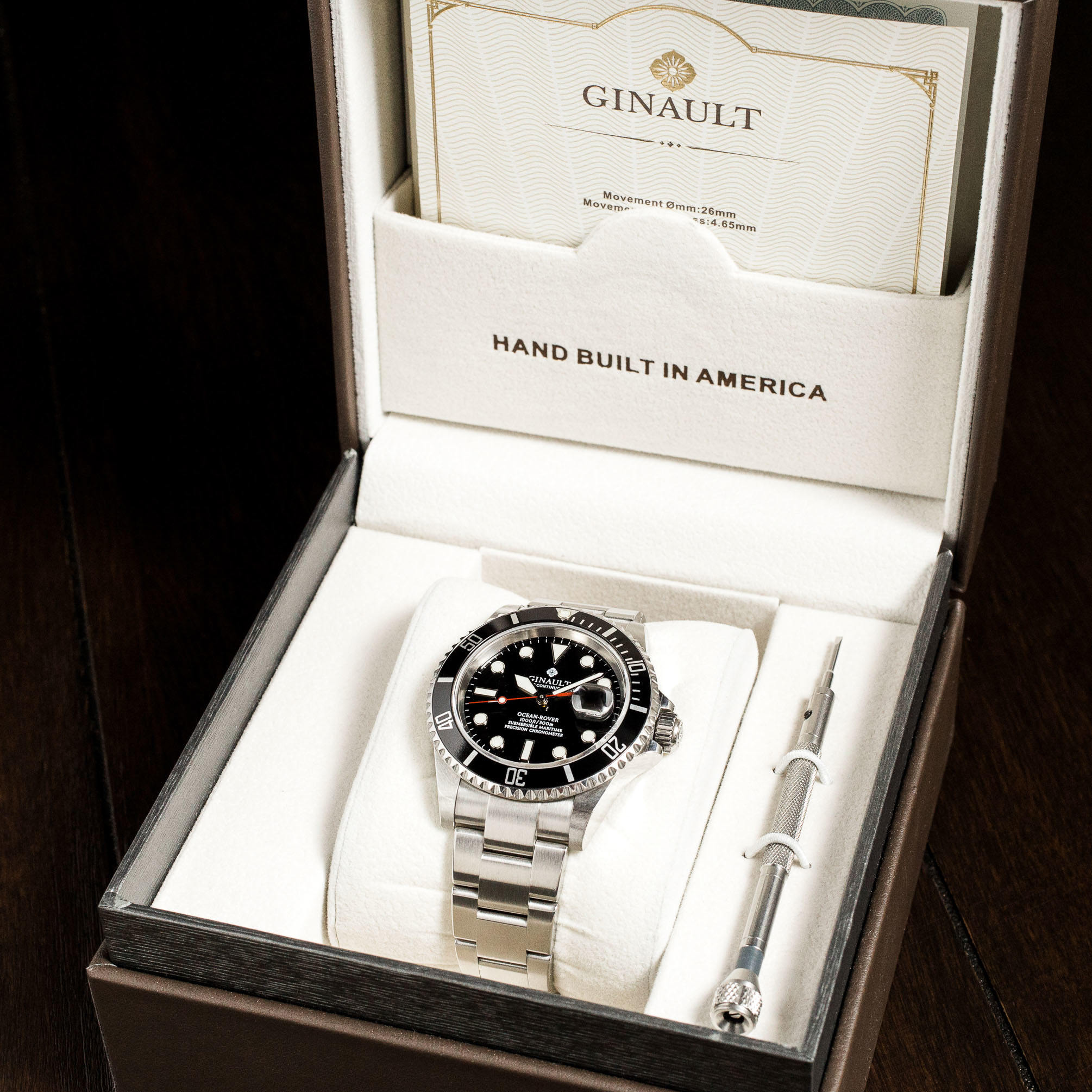 Ginault unboxing