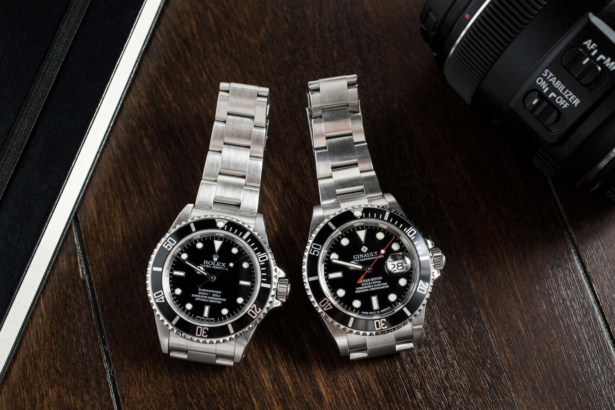 Ginault vs Rolex