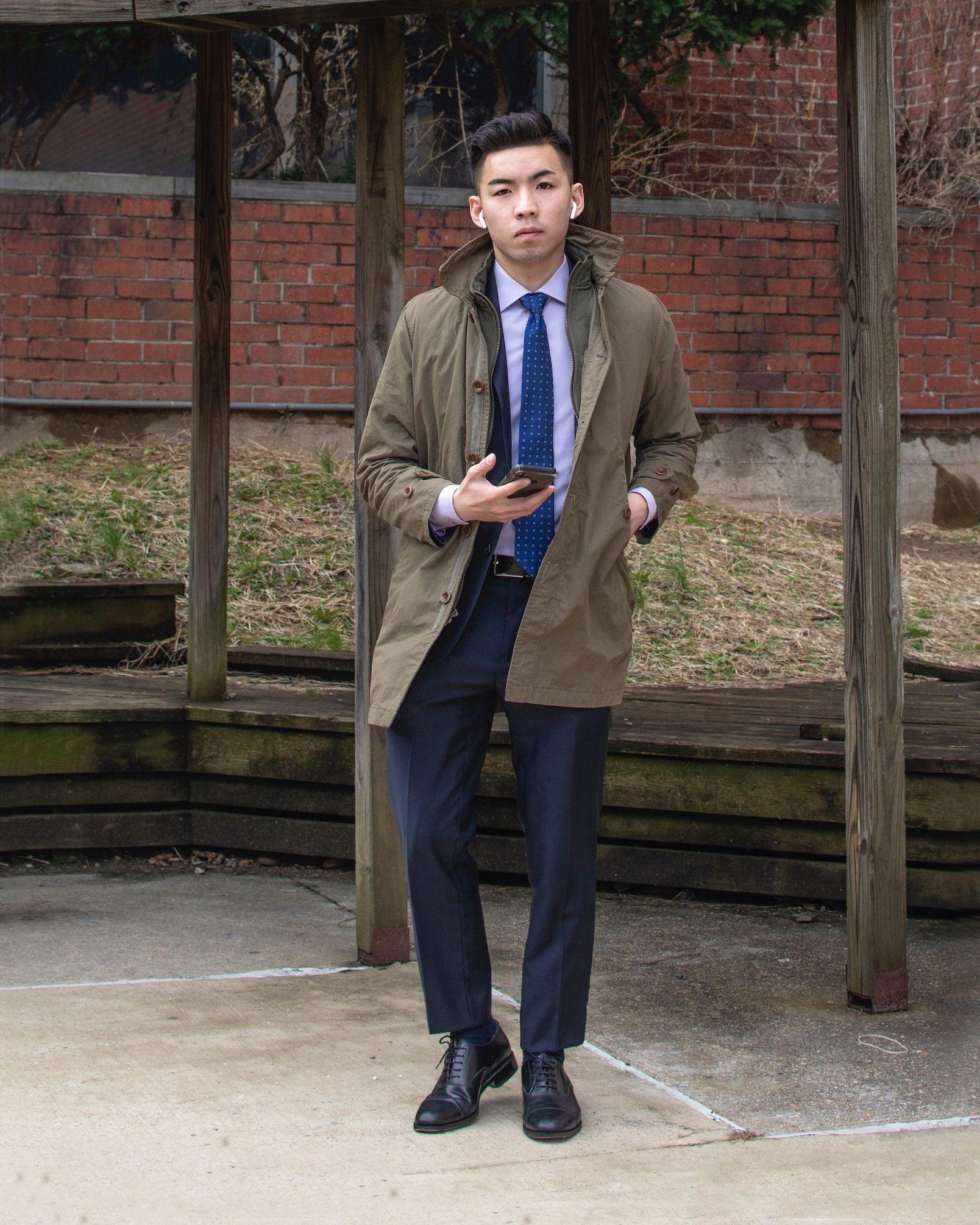 Humphrey Tsui in a business attire