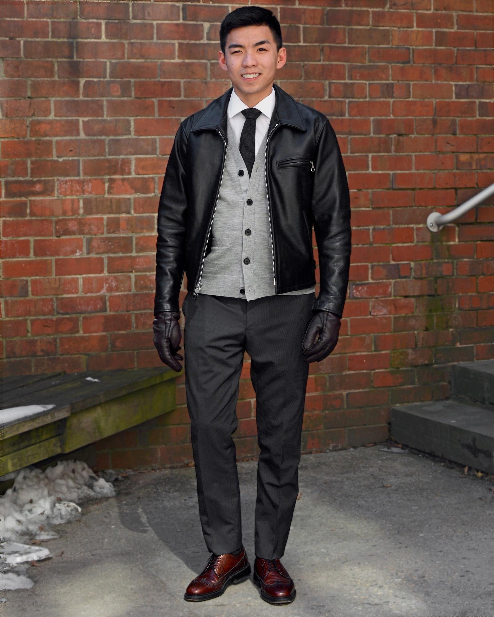 Humphrey Tsui in a black jacket