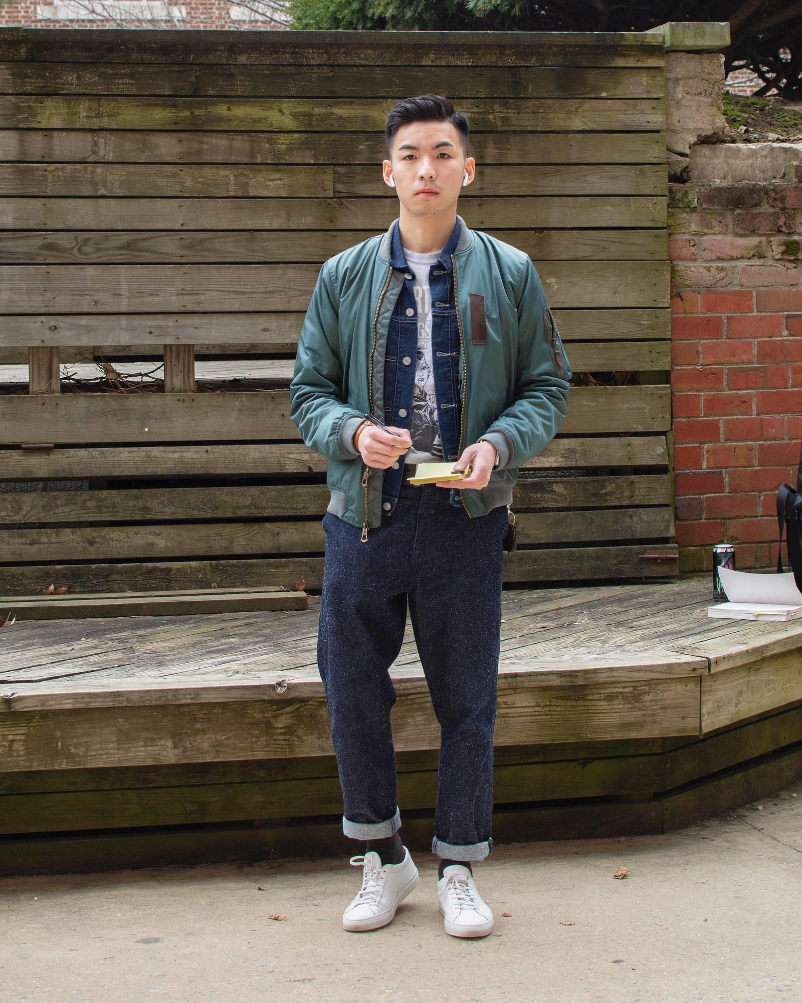 Humphrey Tsui in casual clothes