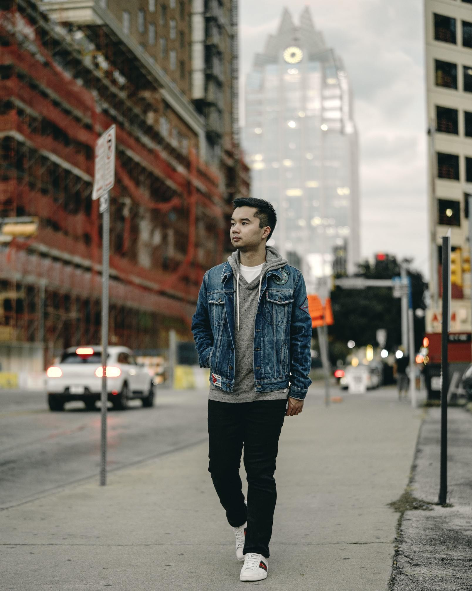 Thanh Pham casual layers
