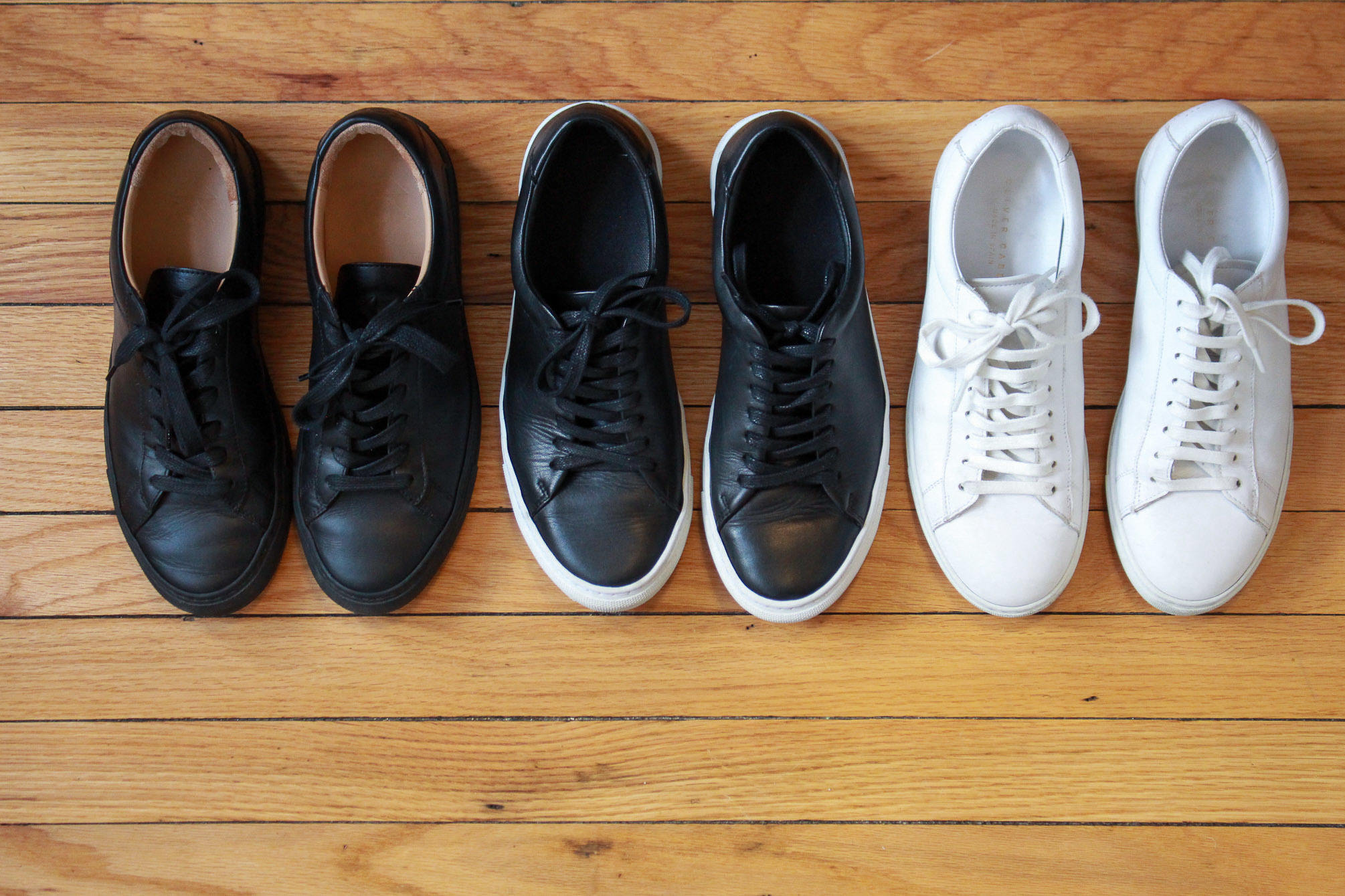 Koio vs. Beckett Simonon vs. Oliver Cabell sneakers