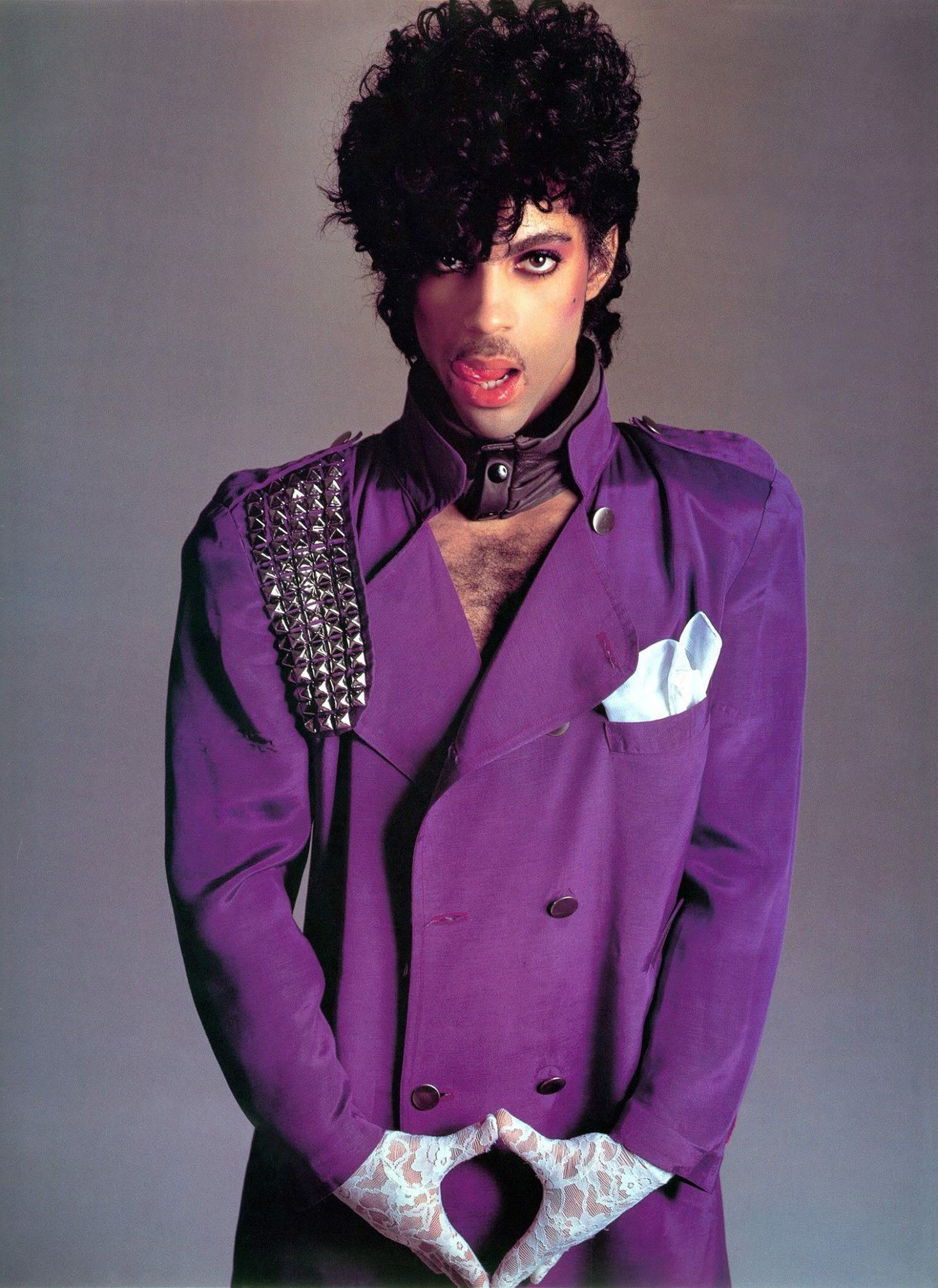 Prince 1980s look
