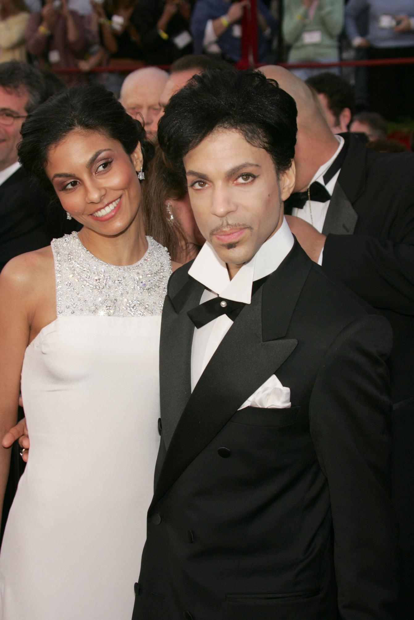 Prince with Manuela Testolini Nelson