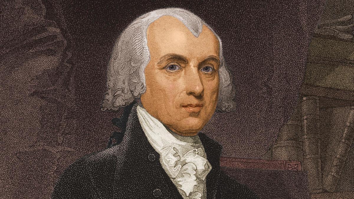 James Madison – 5'4″