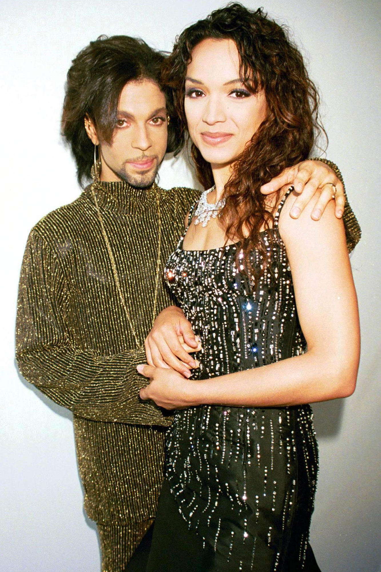Prince with Mayte Garcia