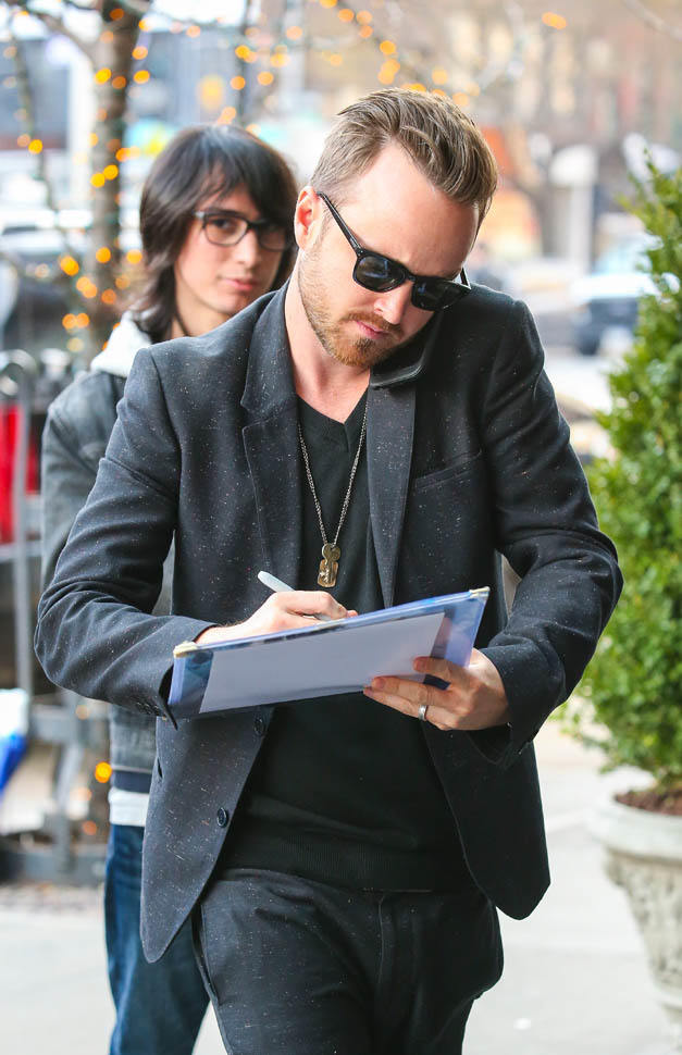 Aaron Paul at HuffPo Live in NYC