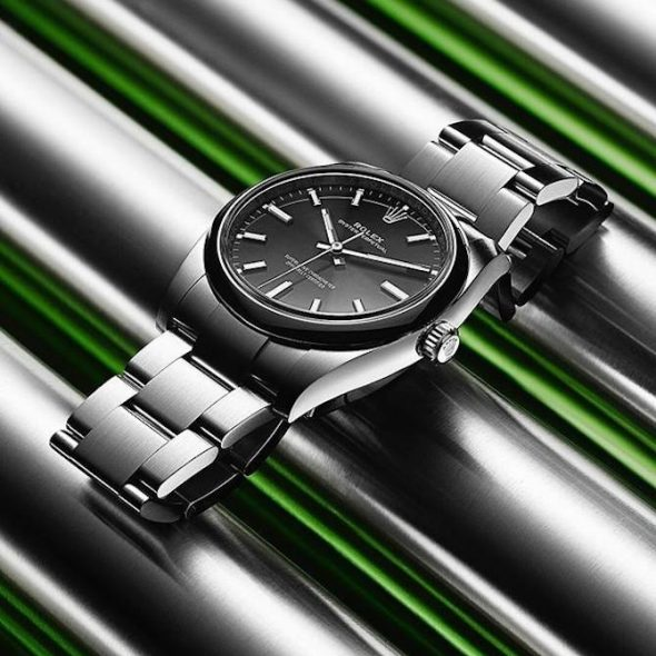 Best 34mm Watches: Rolex Oyster Perpetual