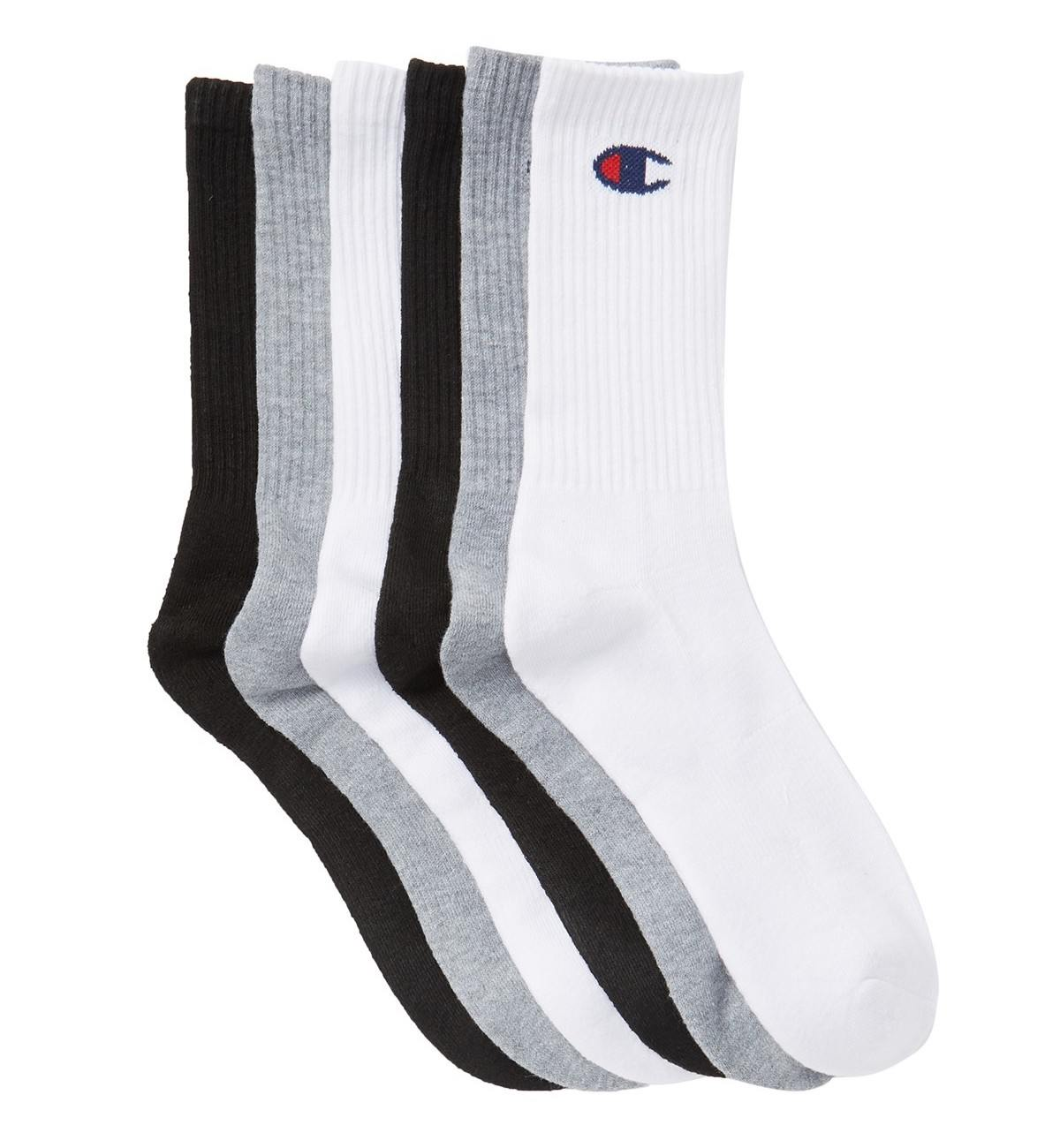 Champion LIFE Men's Life-C Logo Embroidered Crew Sock