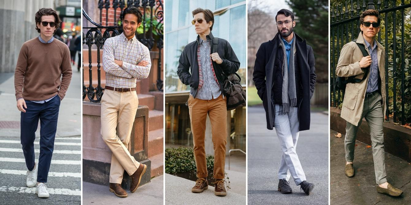 Chinos outfit ideas