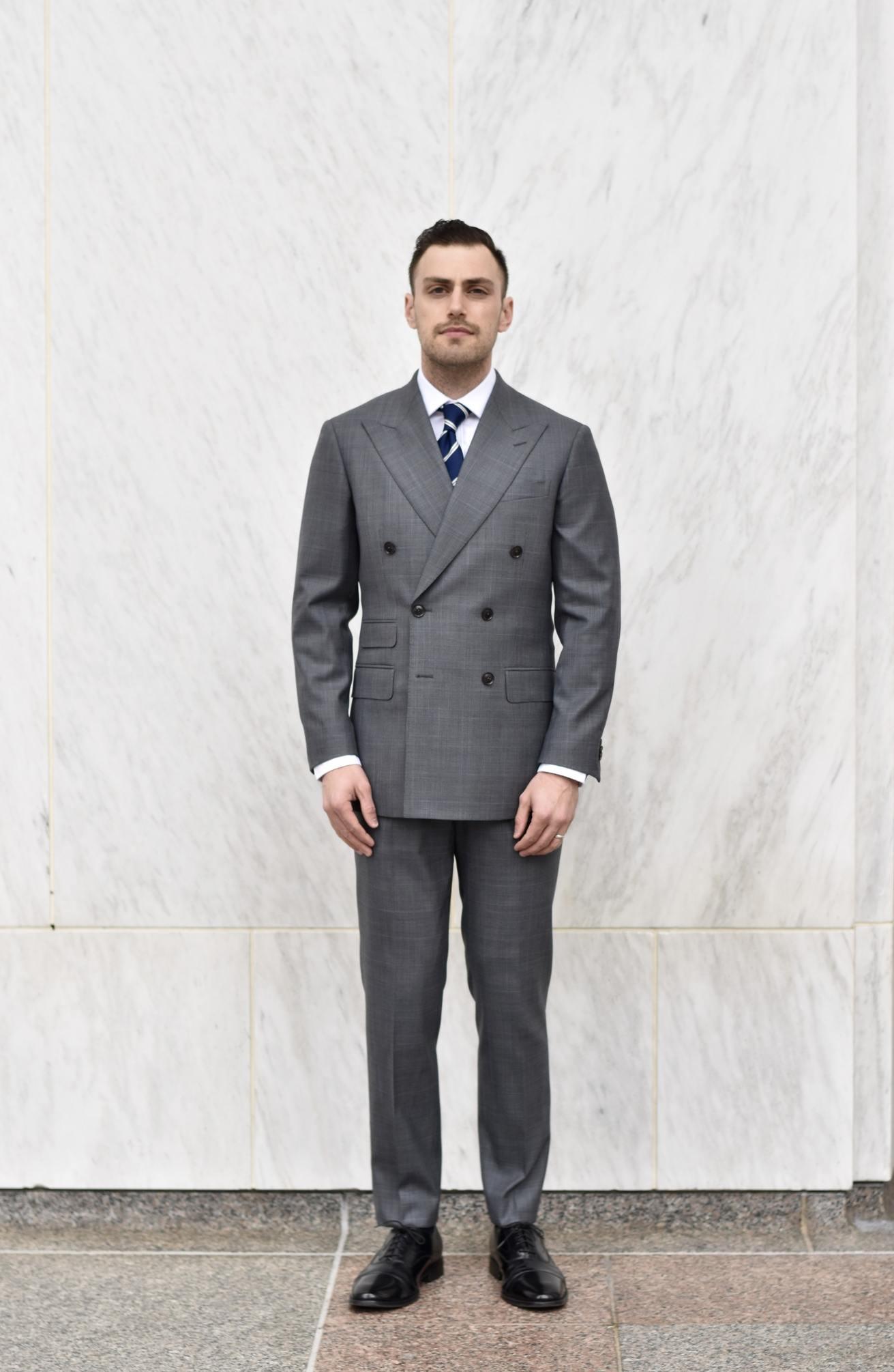 Enzo Custom Suit Front View