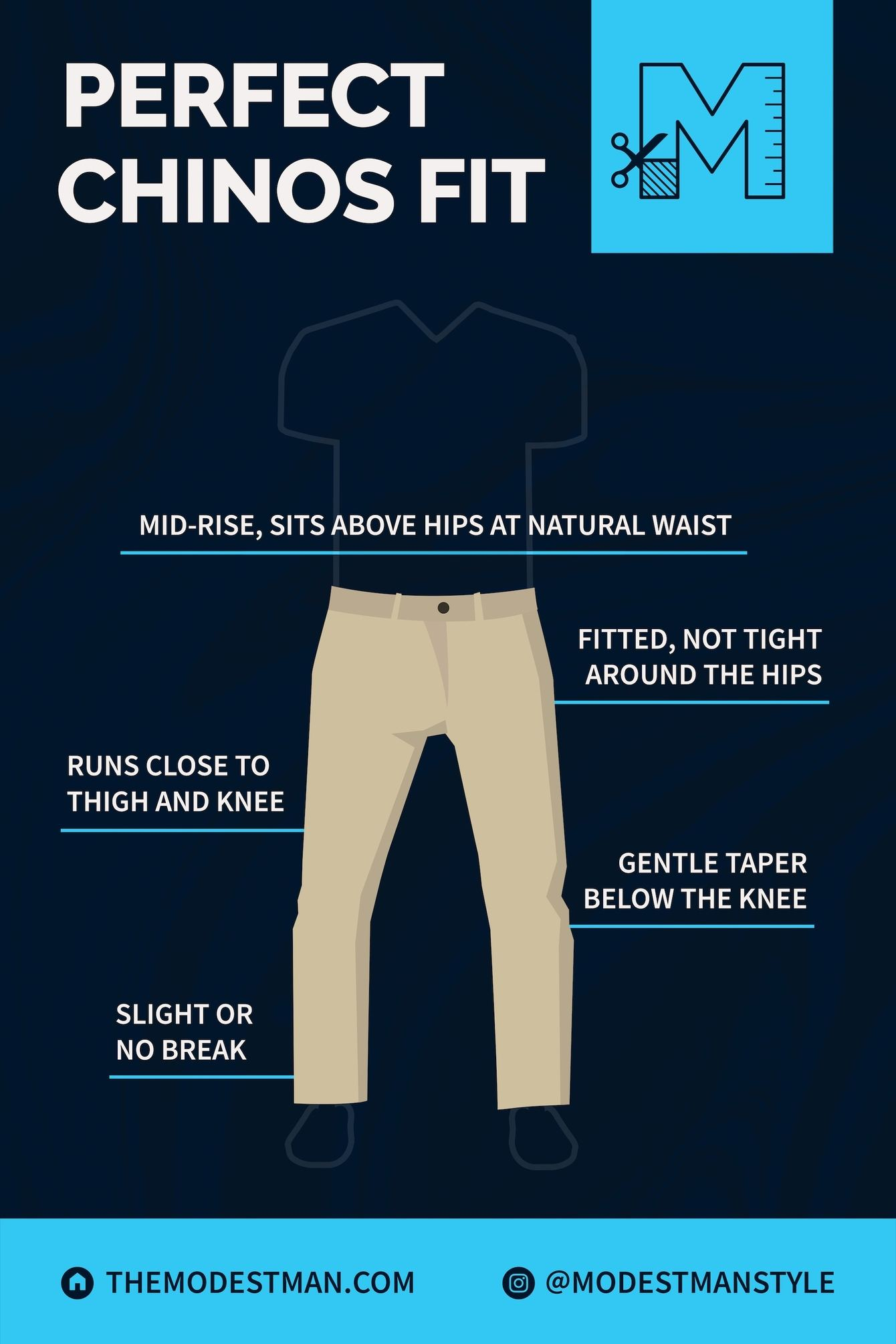How Chinos Should Fit