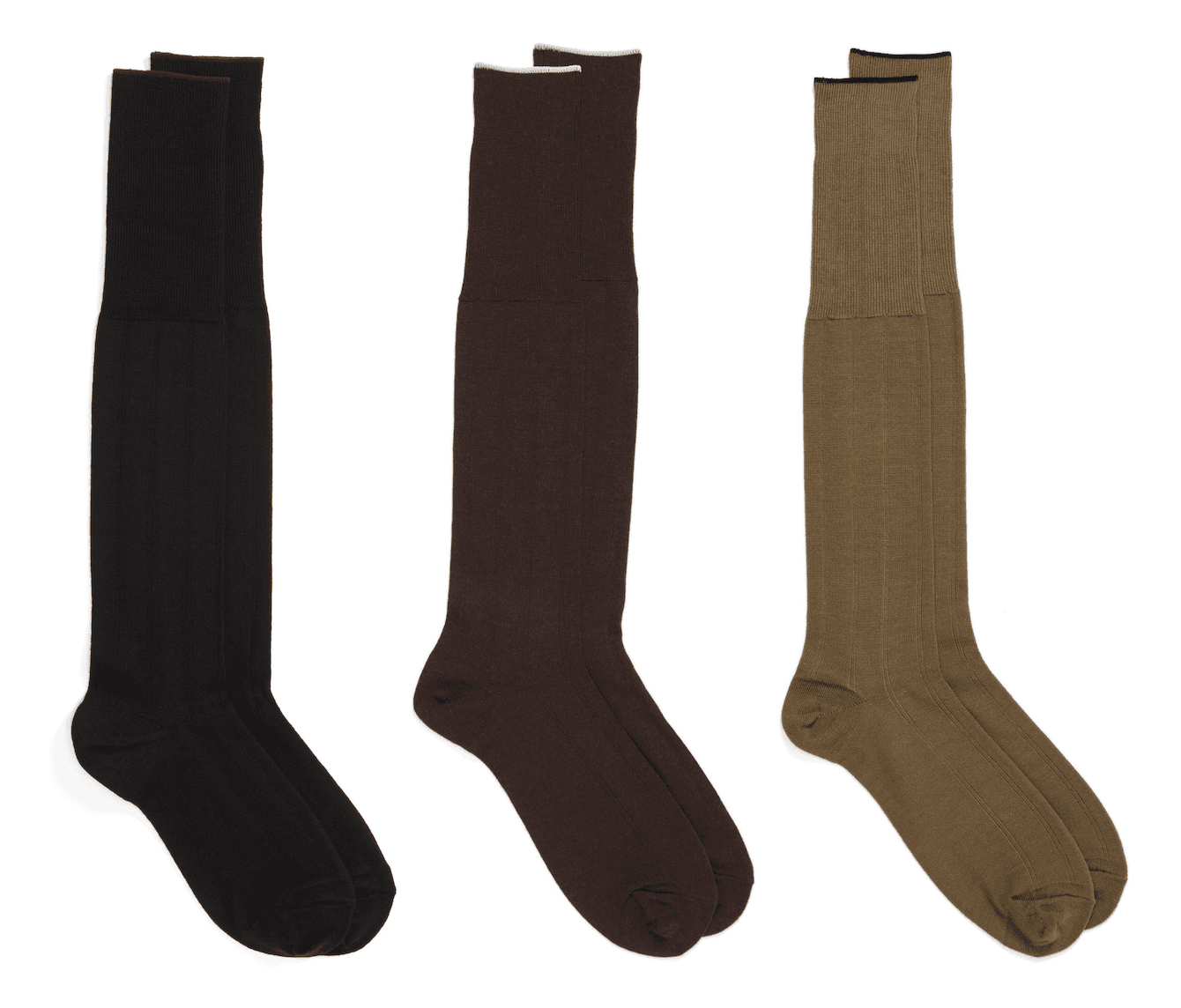 Over the calf socks for men
