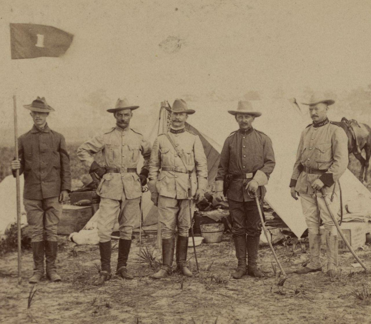 Spanish-American War uniforms