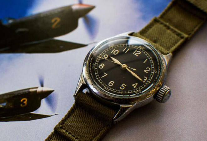 American A-11 field watch