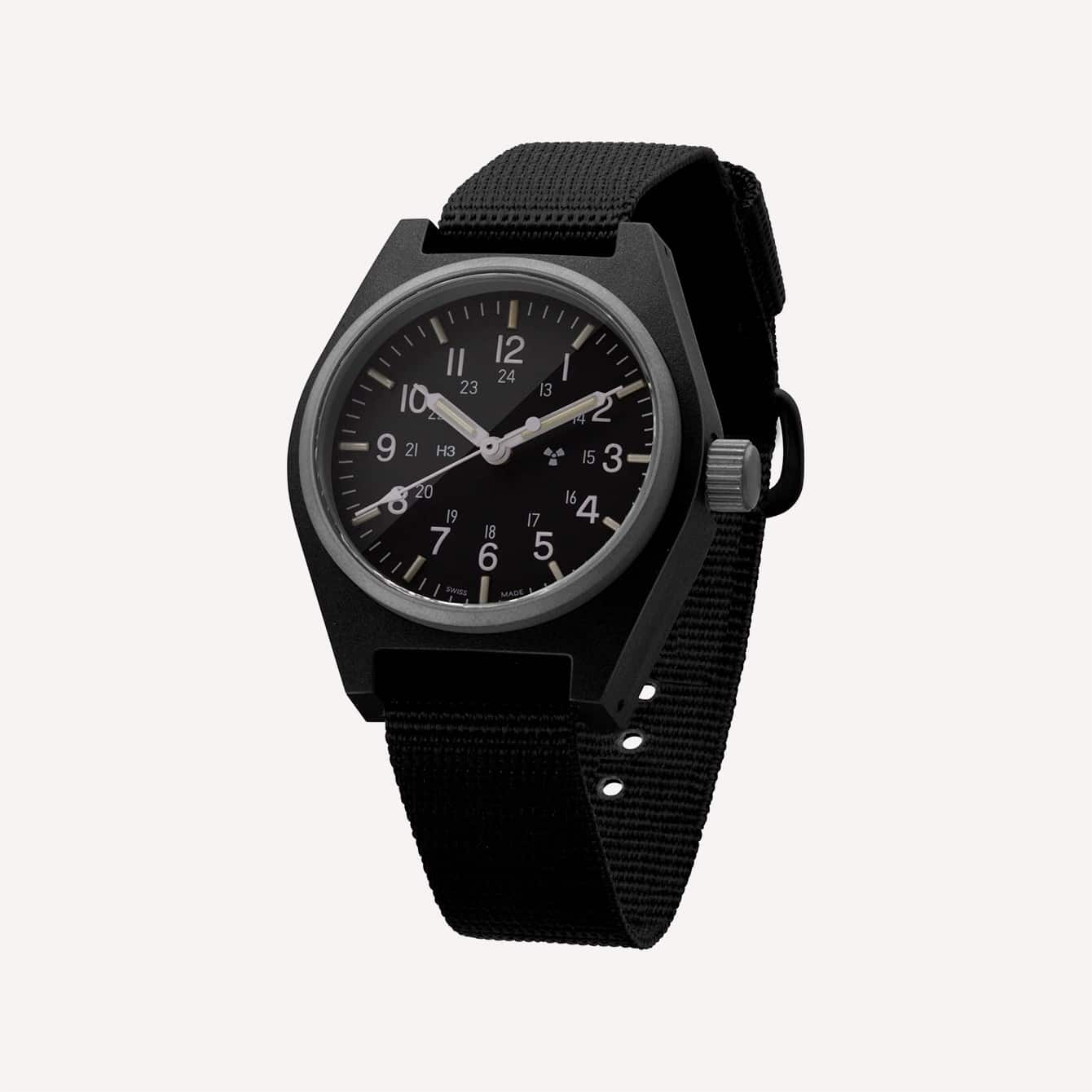Black General Purpose Quartz 34mm