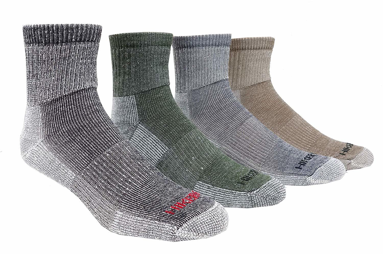 J.B. Field's Super-Wool Hiker GX Low-cut 1/4 Hiking Socks