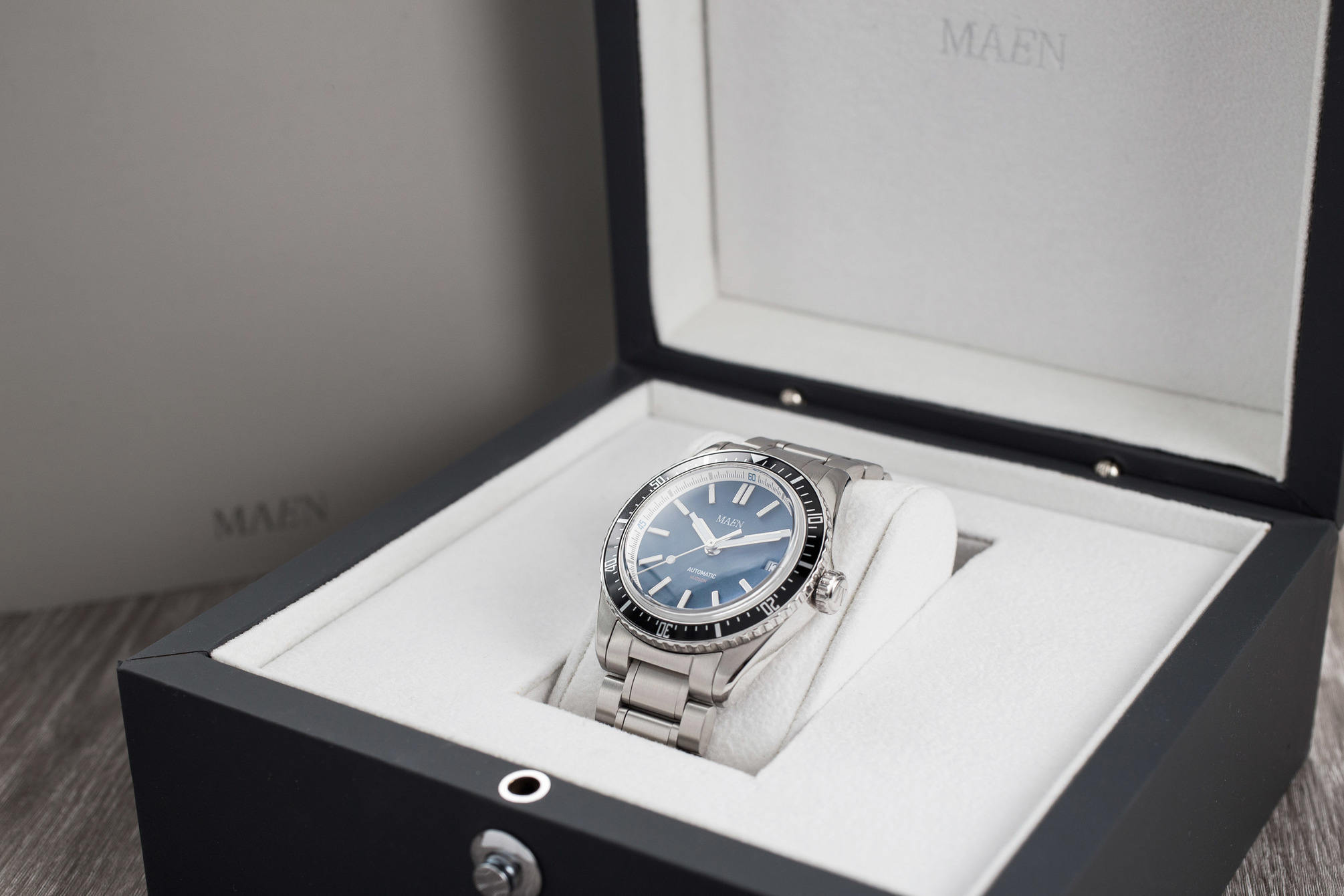 Maen Hudson Automatic 38mm in the box