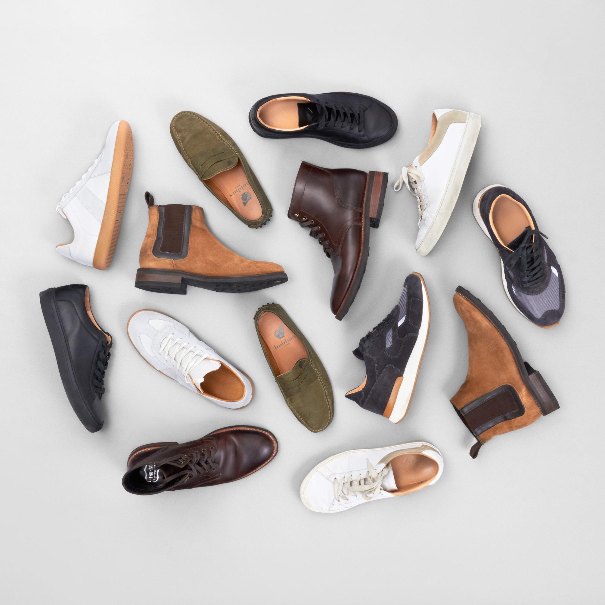 Men's shoe collection