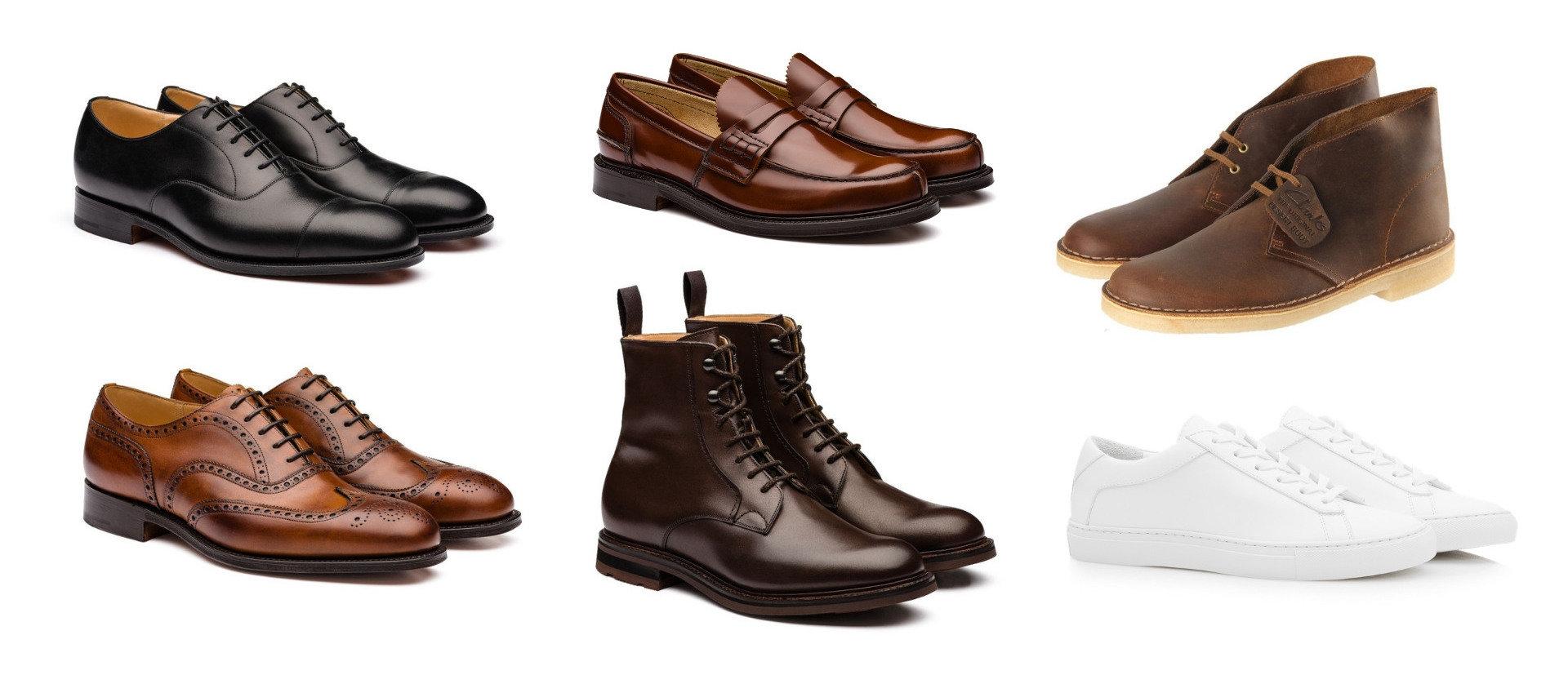 Minimalist shoe collection men