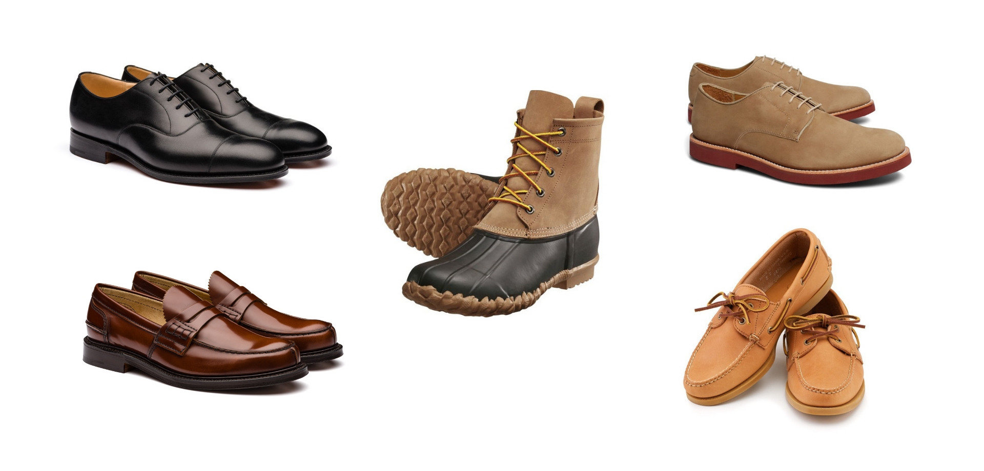 Minimalist shoe collection - preppy