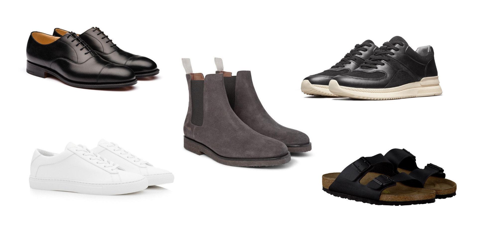 Minimalist shoe collection - urban warrior
