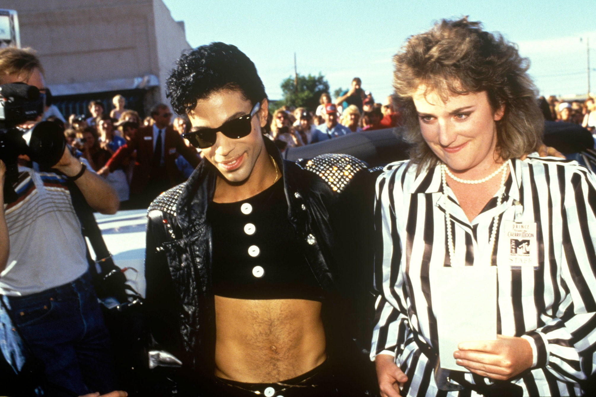Prince with a motel chambermaid who an MTV dream date with the star