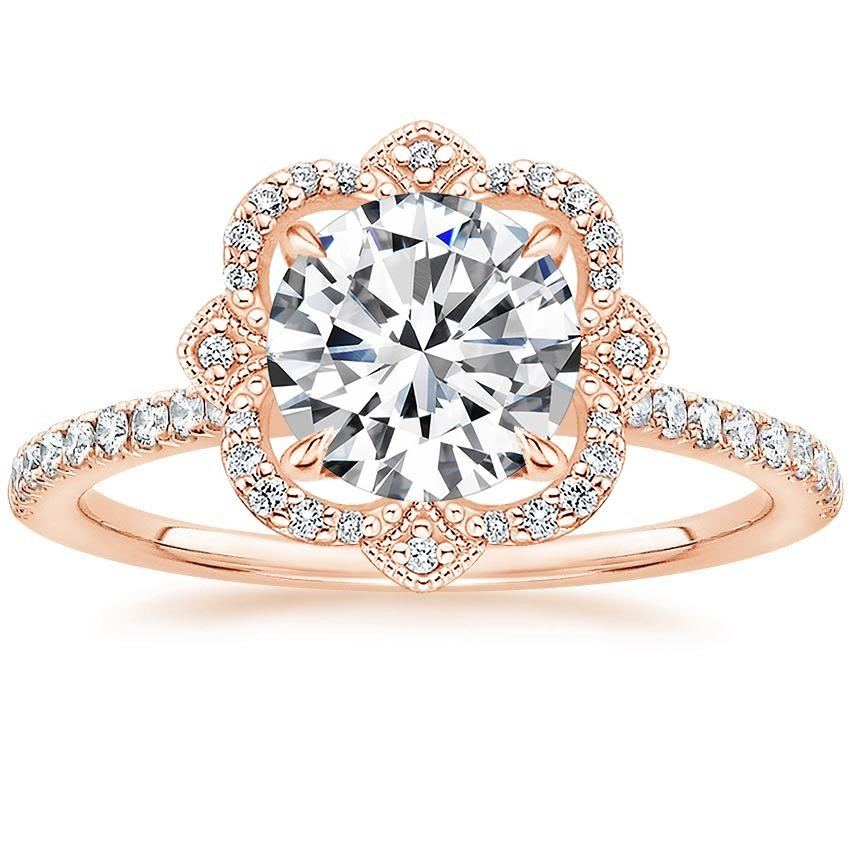 Rose Gold Reina Diamond Ring - Brilliant Earth