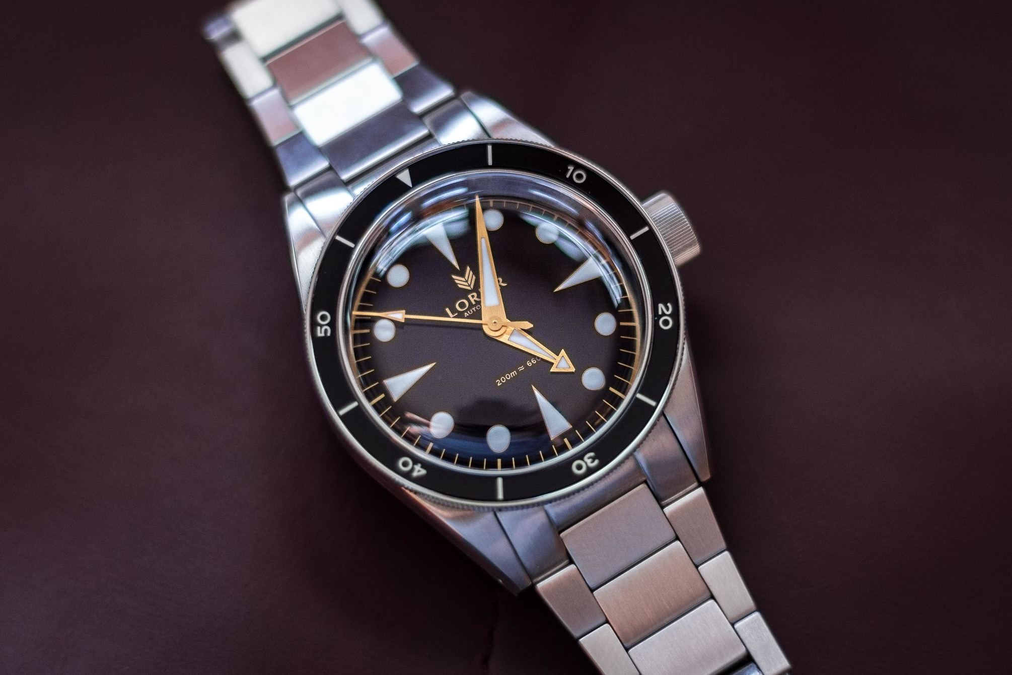 Lorier Neptune the quintessential dive watch