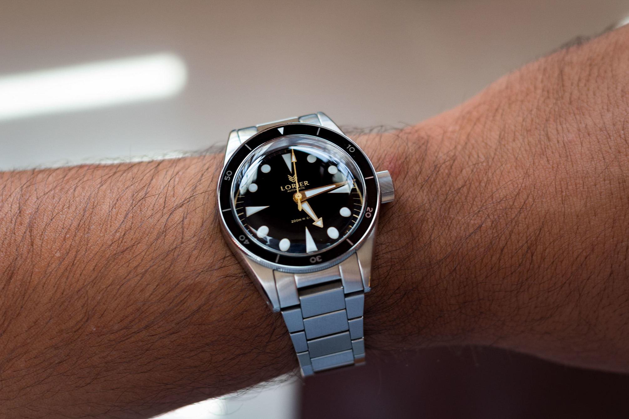 Neptune Series II on wrist