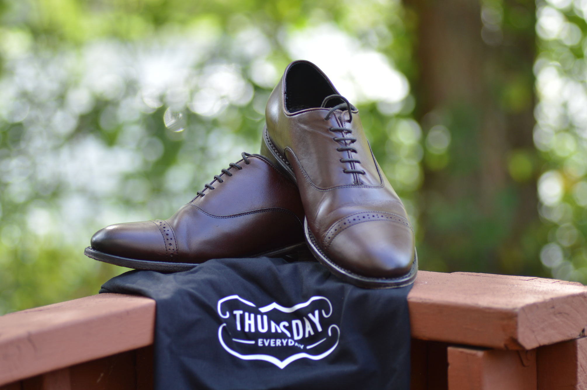 Thursday Broadway Brogued Dress Shoes