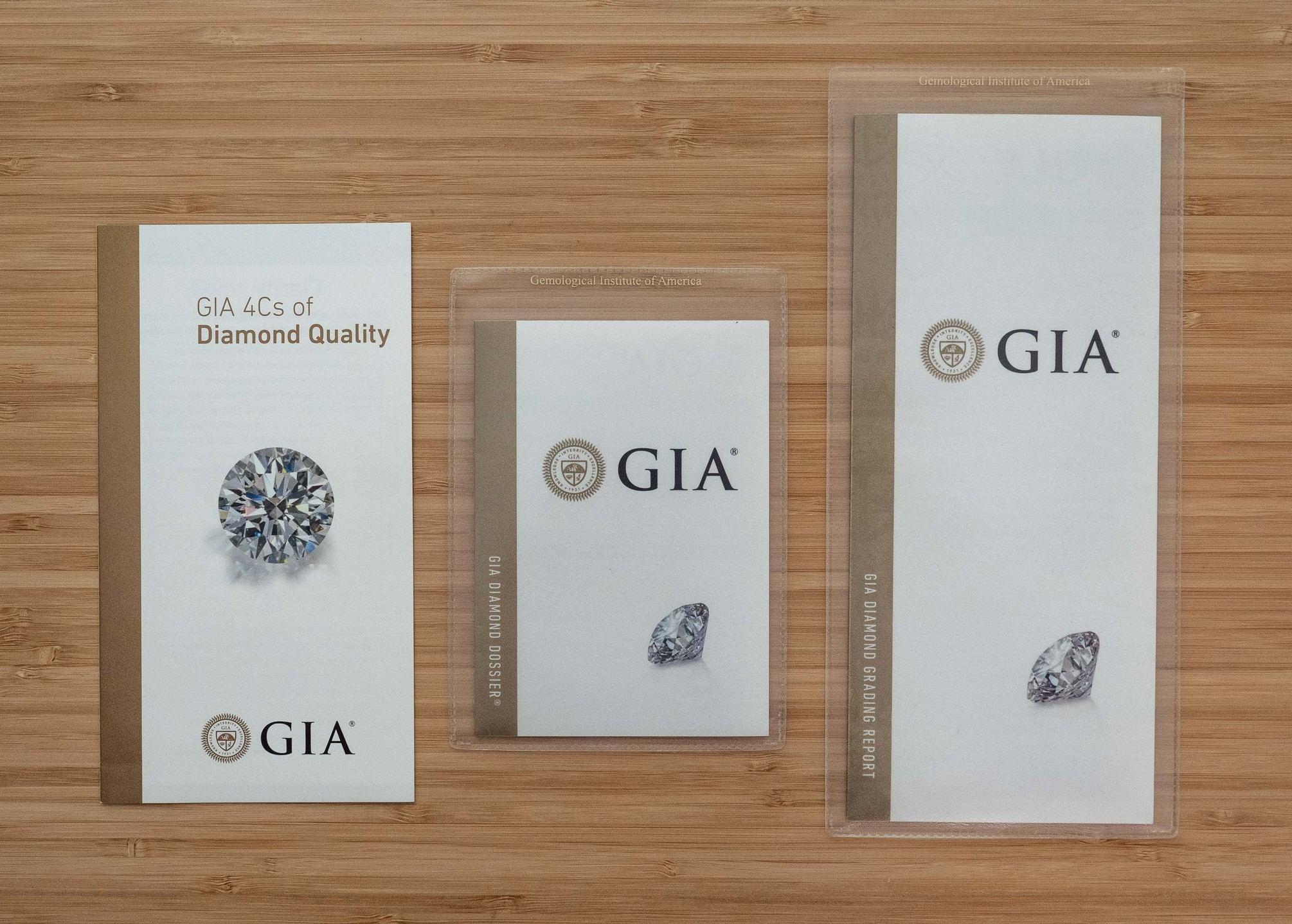 GIA Sample Reports