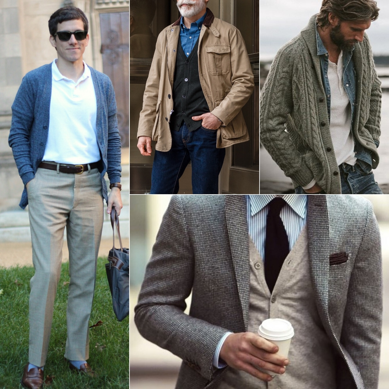 How to Wear a Cardigan: 11 Outfit Ideas for Guys The