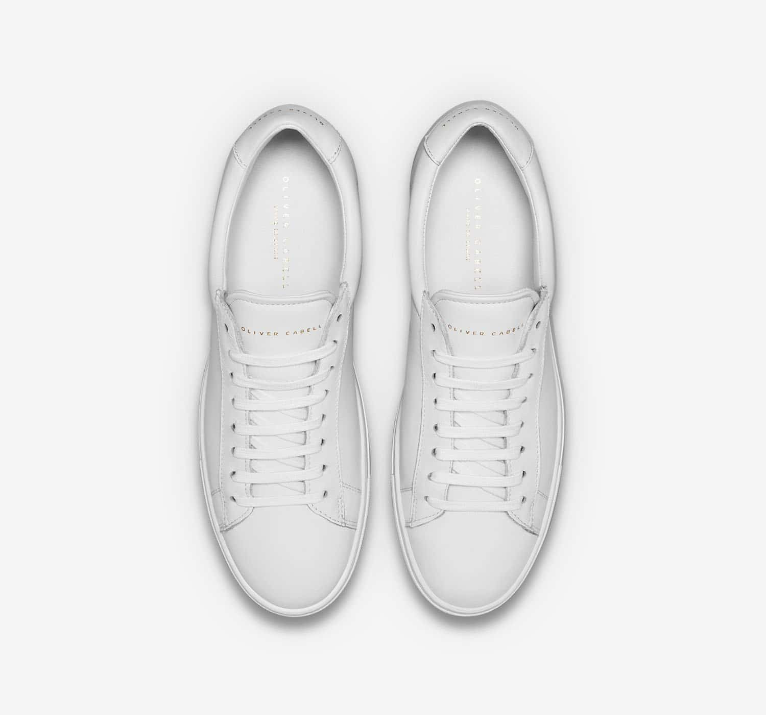 Oliver Cabell Low 1 white top down