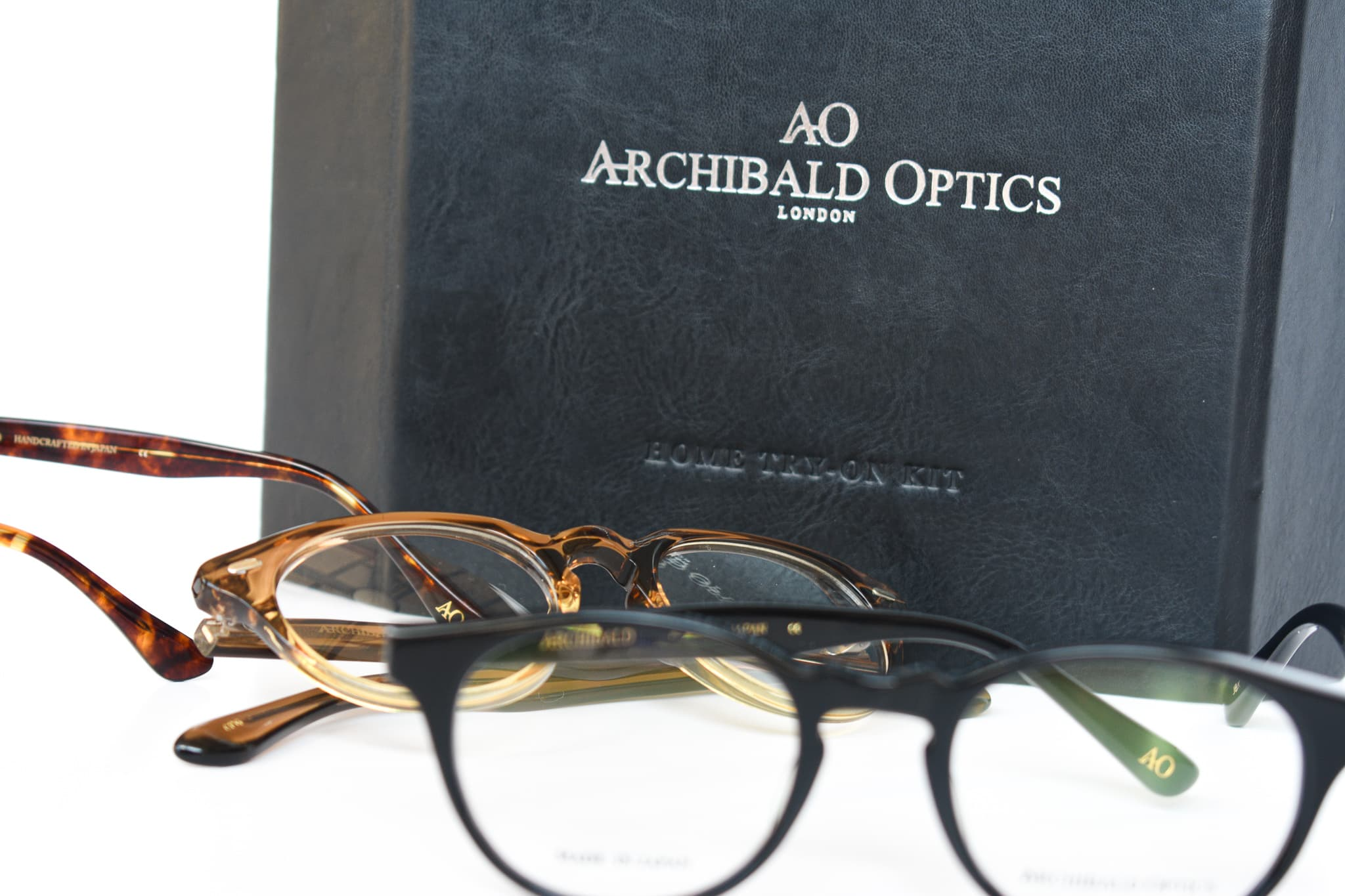 Archibald Optics close-up