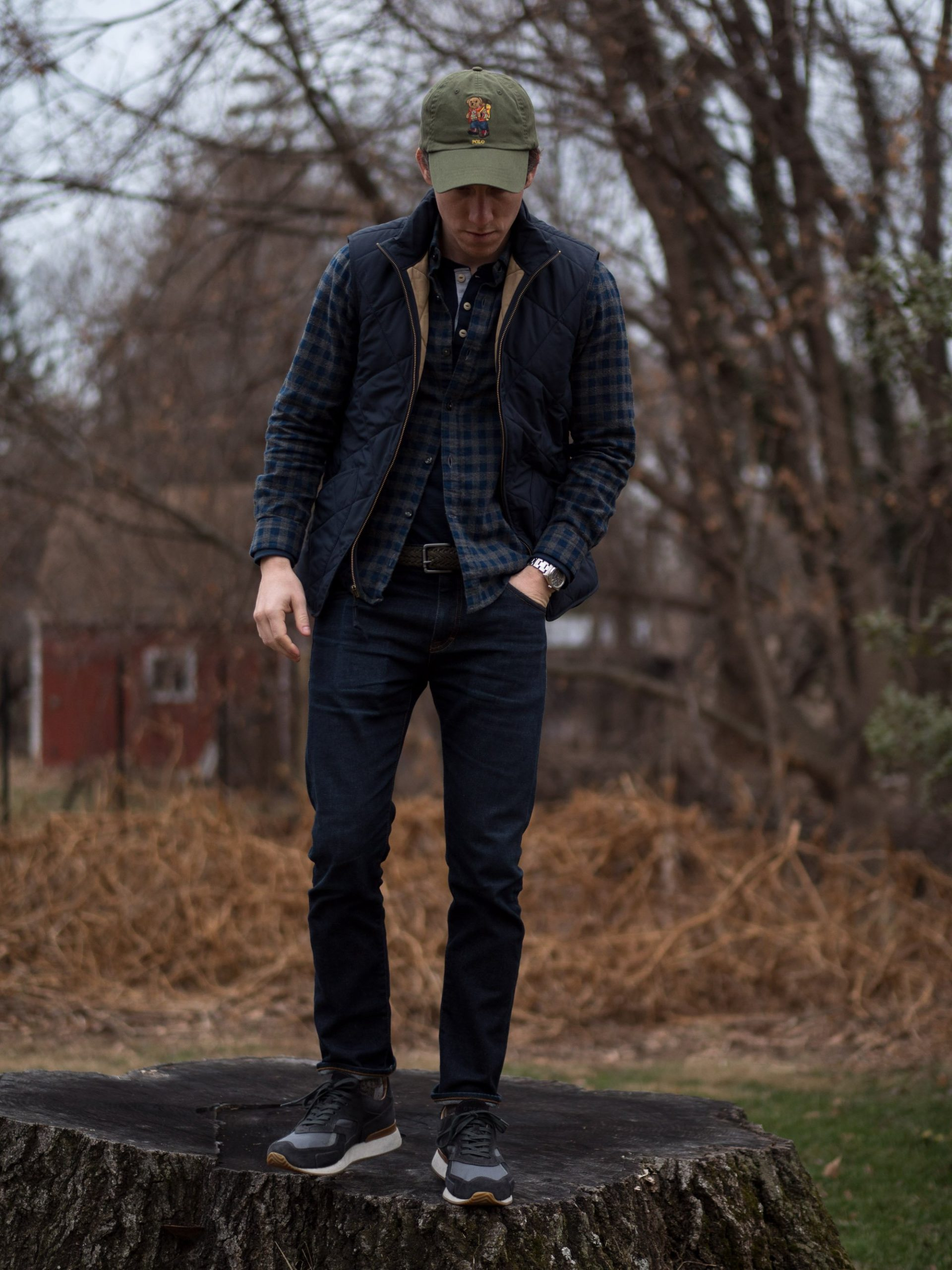 Flannel with field jacket
