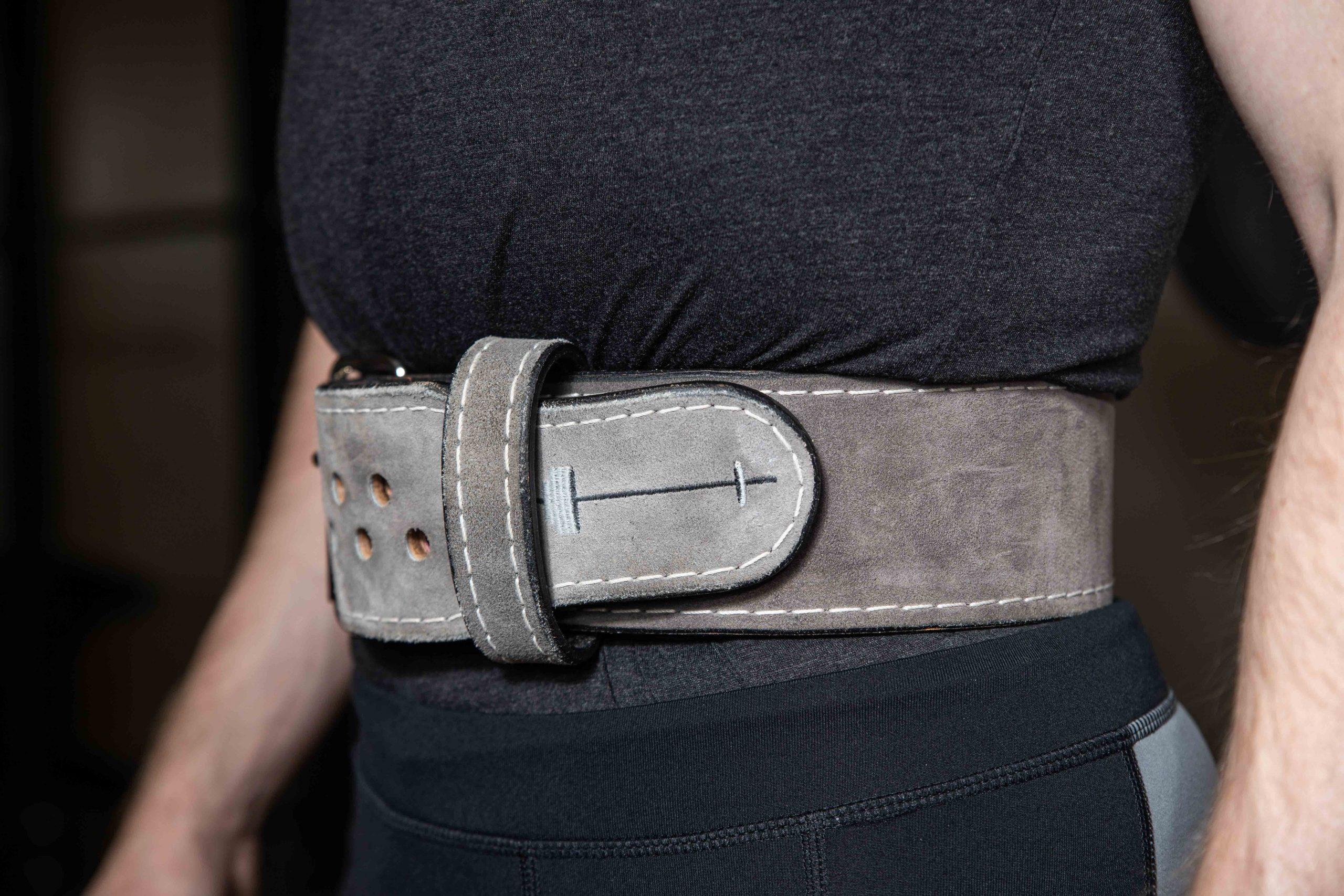 Robert Ordway Pioneer belt close-up