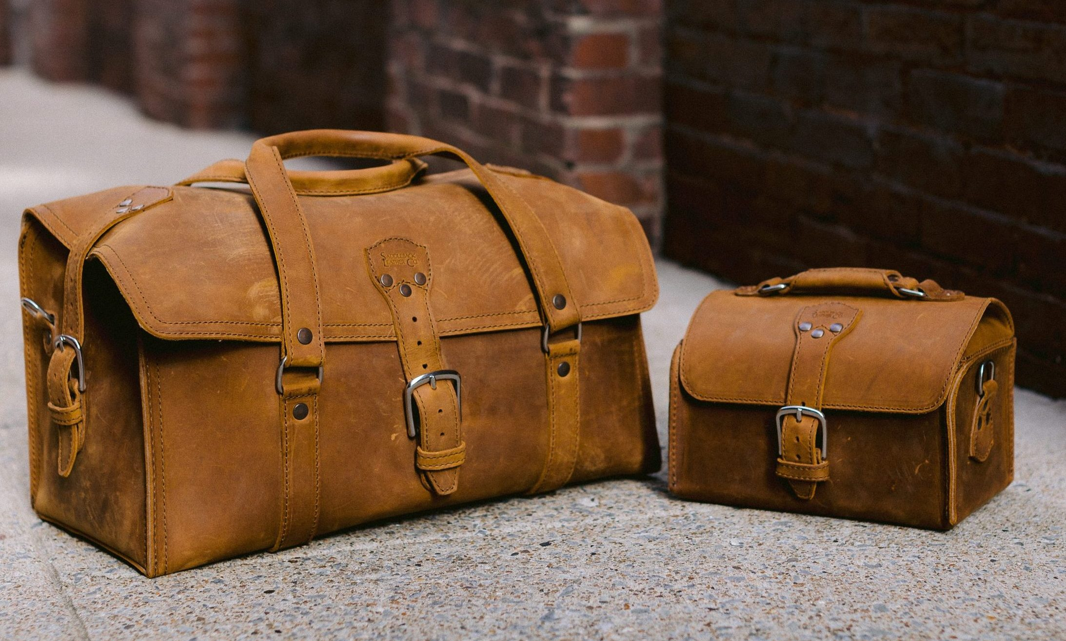 Saddleback bags